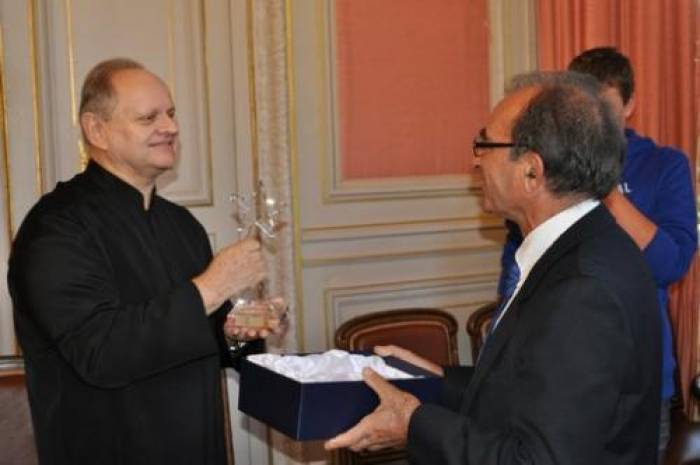 Joël Robuchon, «citoyen d'honneur de la Vienne»