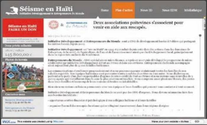 Les réseaux sociaux au secours d'Haïti