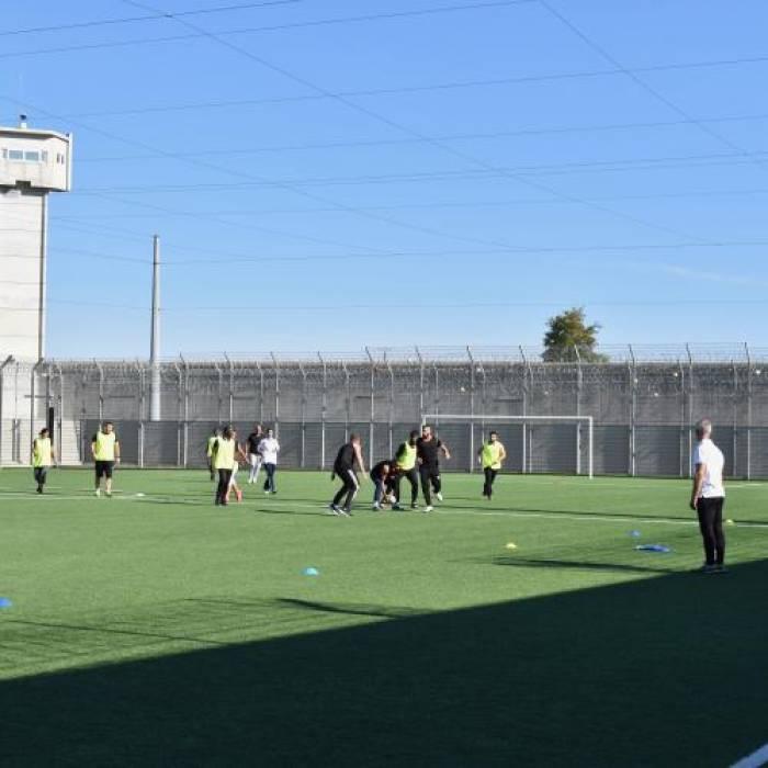 Fête du sport au centre pénitentiaire de Poitiers-Vivonne