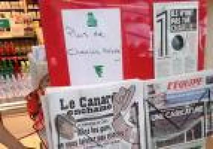 Charlie Hebdo - 4 600 exemplaires écoulés avant 8h