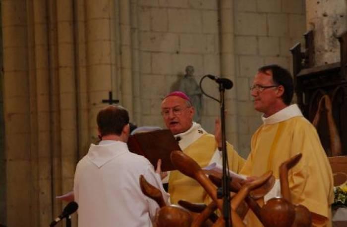 Dernière ordination de Mgr Rouet