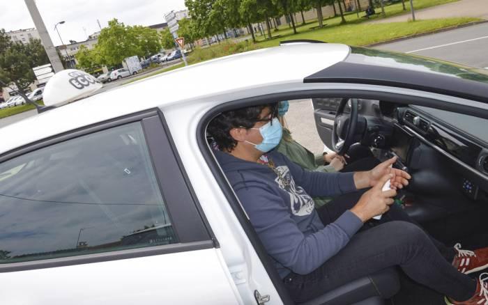 Formation : embouteillage à l'auto-école