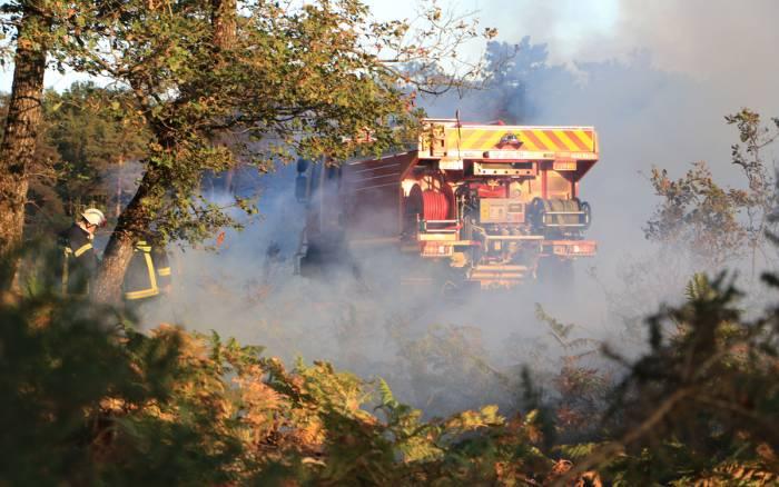 Sécheresse : risque important d'incendie ce week-end