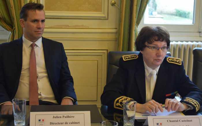 Julien Pailhère : «Marteler les messages»