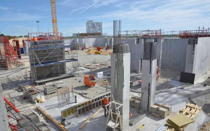 L'Arena Futuroscope, pas encore construite et déjà Centre de préparation des JO 2024