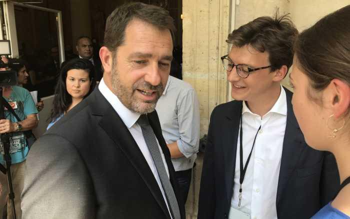 Sacha Houlié porte-parole de la majorité à l'Assemblée nationale