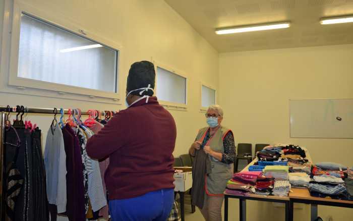 Vêtements : une boutique solidaire en prison