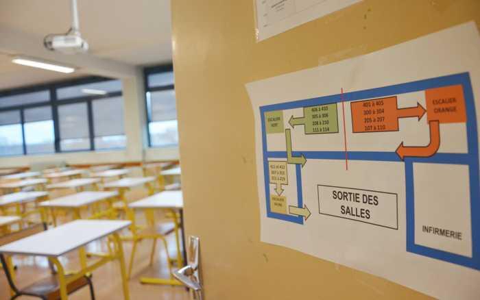 Lycées: loin des yeux, près du cours