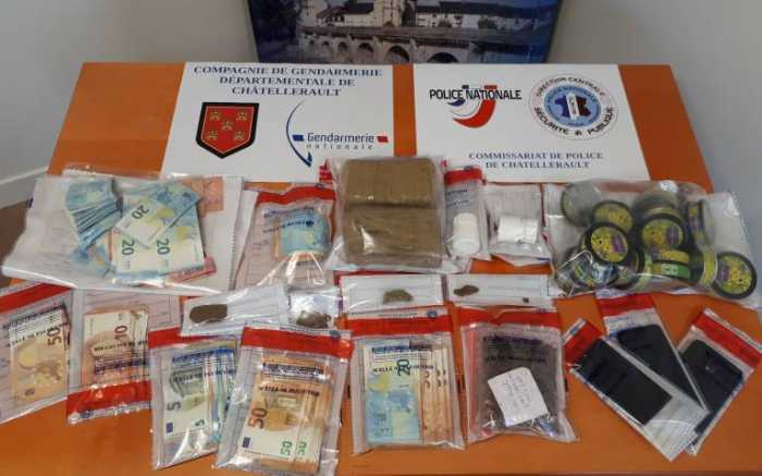 Un trafic de stupéfiants démantelé dans le Châtelleraudais