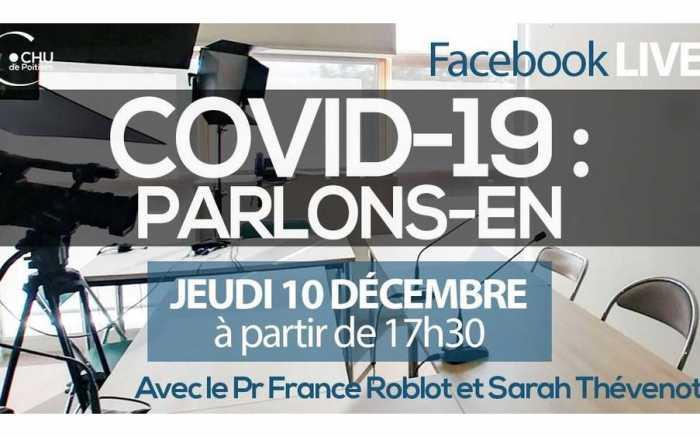 Covid-19 - Un Facebook live ce soir avec France Roblot et Sarah Thévenot