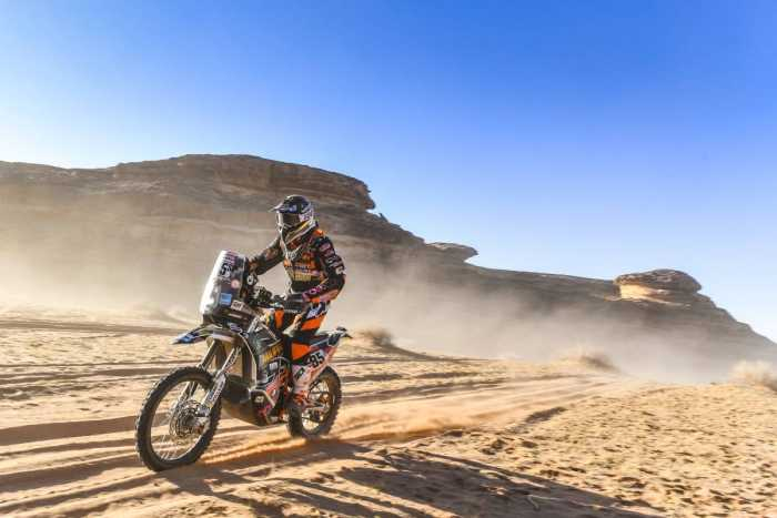 Charlie Herbst roule vers un 3e Dakar