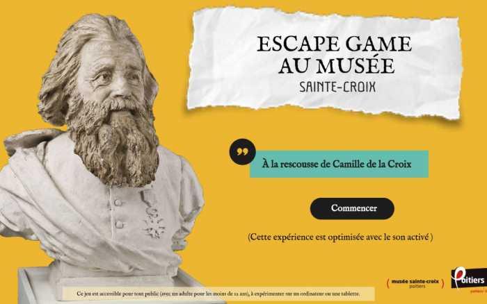 Musée Sainte-Croix - Testez l'escape game numérique!
