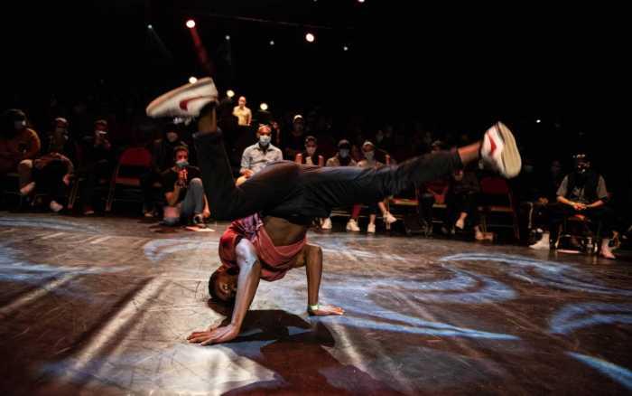 Le breakdance entre deux eaux