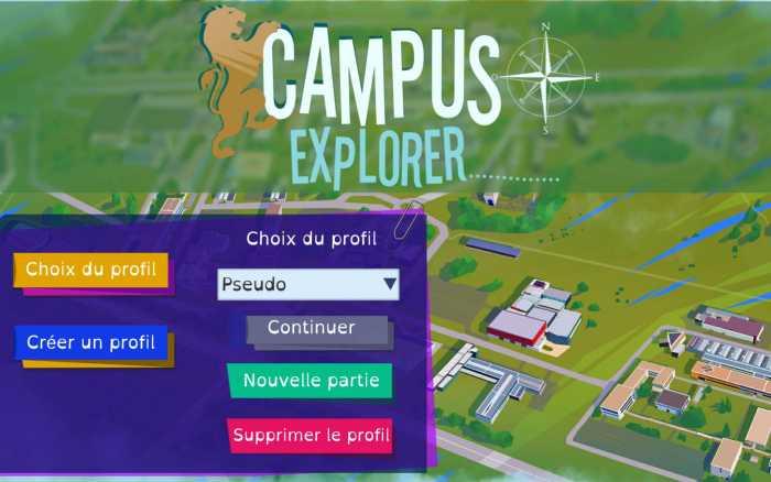 Le campus de Poitiers pour terrain de jeu
