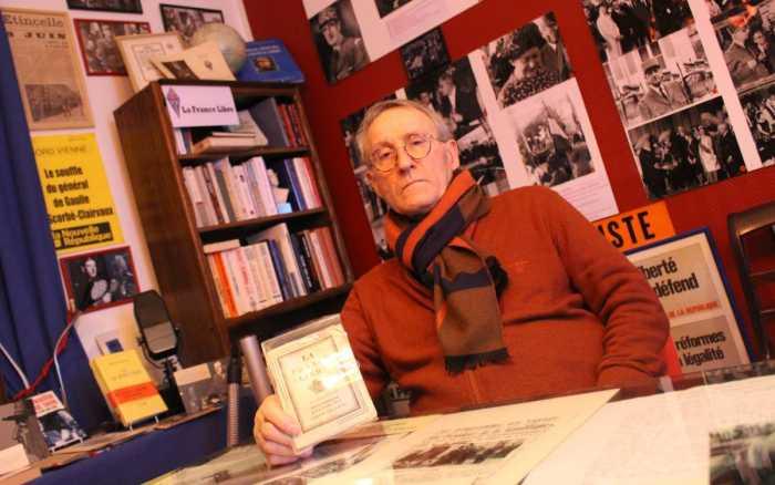 Lucien Jugé, intarissable sur de Gaulle