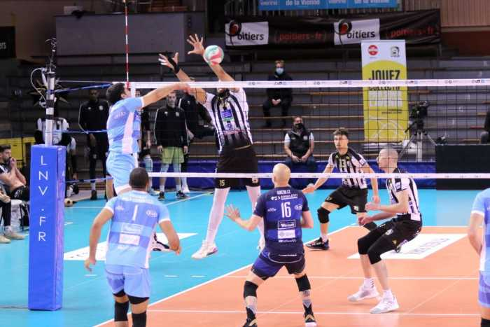 Volley/play-offs : Montpellier trop fort pour Poitiers (0-3)