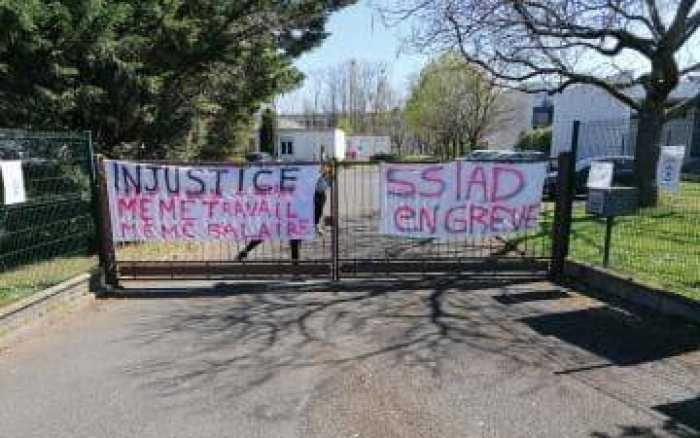 Le SSIAD de Poitiers en grève