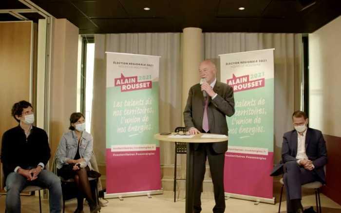 Alain Rousset entre en campagne