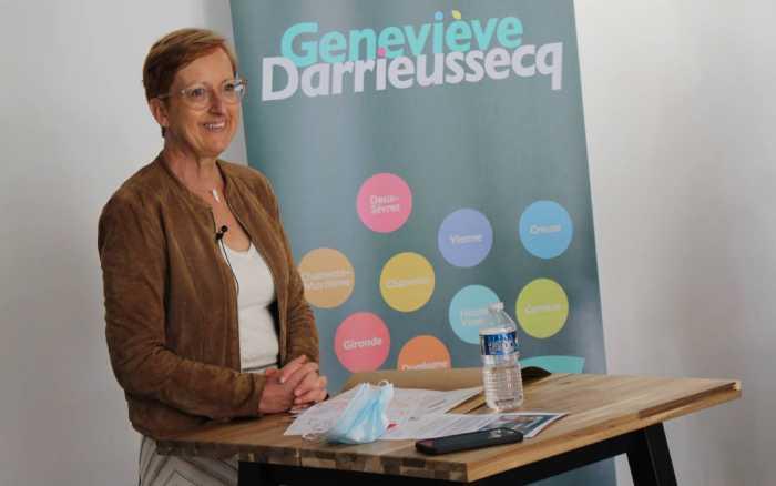 Régionales - Françoise Ballet-Blu tête de liste de L'union fait la Région dans la Vienne
