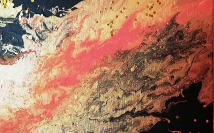 Loisirs créatifs : réaliser une toile en pouring