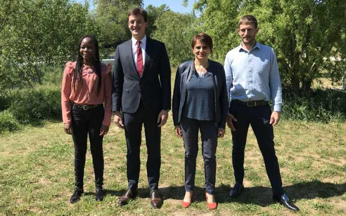 Départementales - Sylvie Sap et Sacha Houlié, candidats sur le canton de Poitiers 5