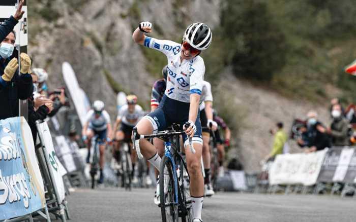Cyclisme - Cecilie Ludwig remporte la 3e étape du Tour de Burgos