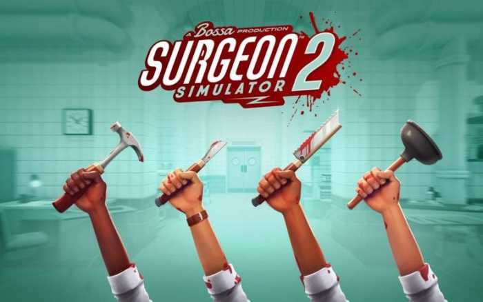 16/20 pour Surgeon Simulator 2