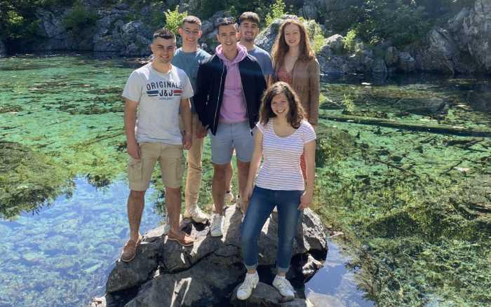 Des étudiants poitevins la découverte de l'Albanie
