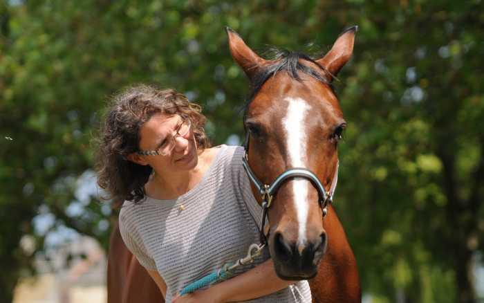 Angeline Socier, le cheval comme remède