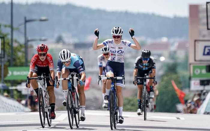 Cyclisme - Evita Muzic, nouvelle championne de France de cyclisme sur route