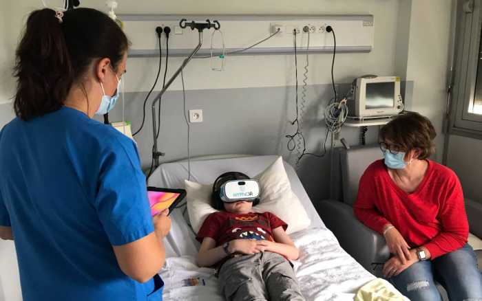 La «VR», leurre contre la douleur