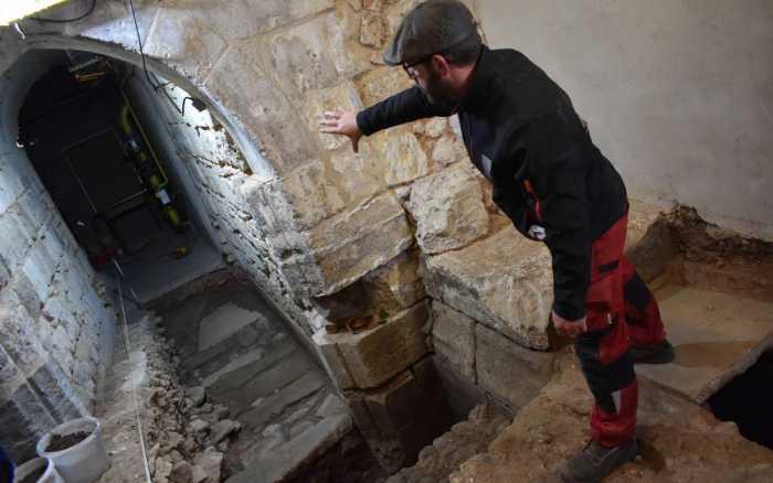 Fouilles archéologiques : les secrets du palais