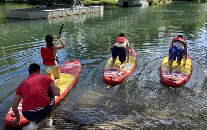 Canoë ou paddle, jetez-vous à l'eau