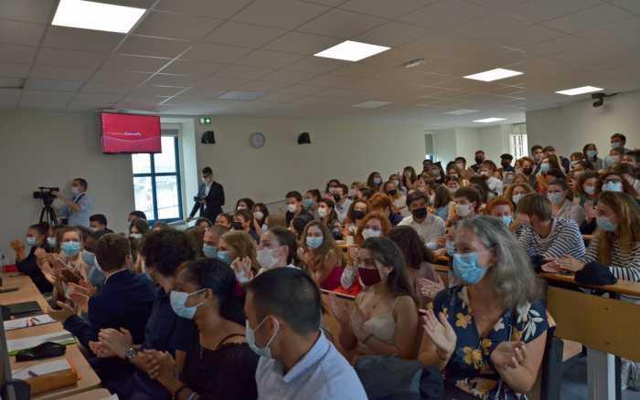 Sciences Po fête les 20 ans de son campus poitevin et accueille ses nouveaux étudiants