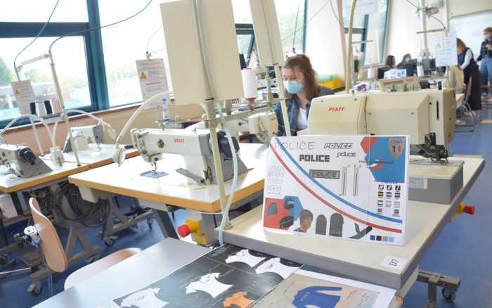 Le lycée du Dolmen co-signe les nouveaux uniformes de la police