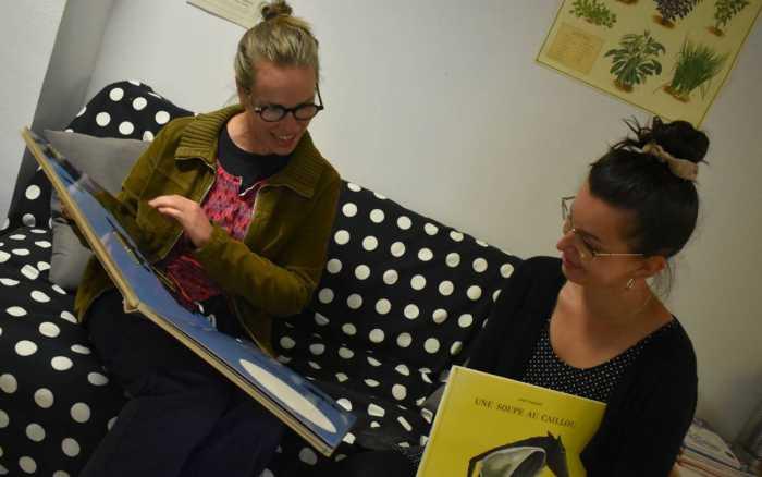 Maternelles : le livre est leur ami