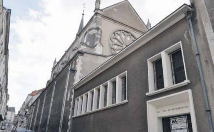 La chapelle à choeur ouvert