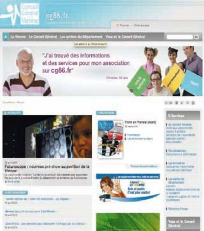Cg86.fr : nouveau look, nouvelle philosophie