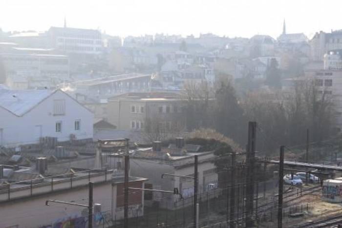 A Poitiers, le quartier de la gare sort du brouillard