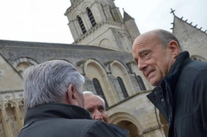 Juppé rencontre ses sympathisants à Poitiers
