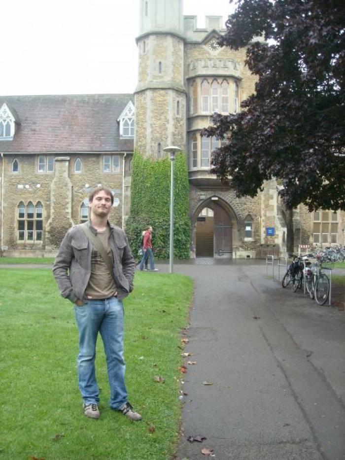 Mes premiers jours à Cheltenham