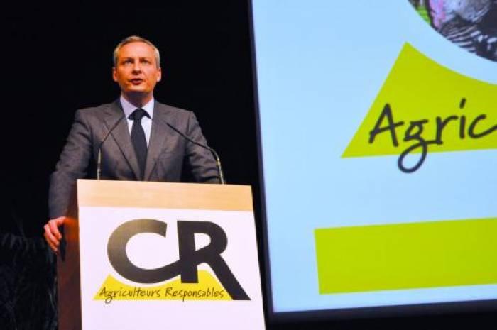 Face aux agriculteurs, Le Maire fustige les «bobos»