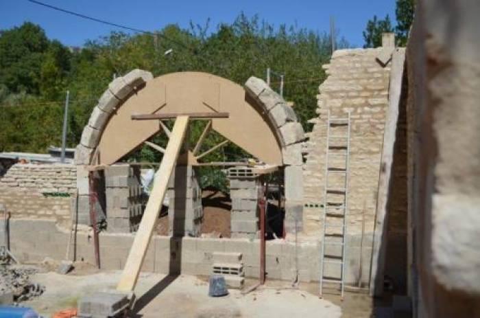 Le coffrage d'une arche des Cordeliers démonté samedi