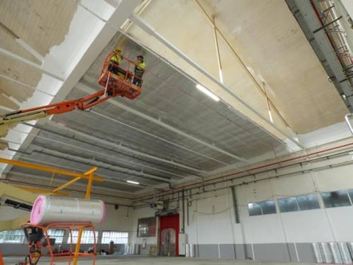 Atlanta invente le plafond en bâche tendue