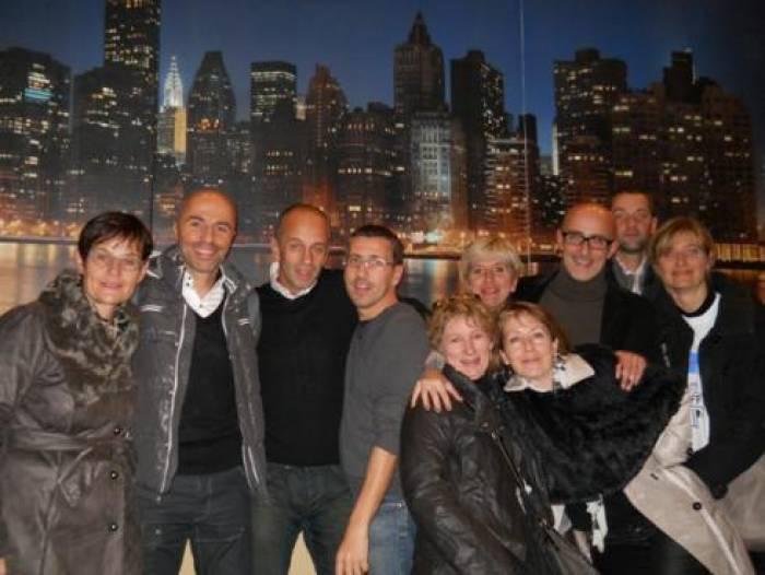 Cinq Poitevins à New-York