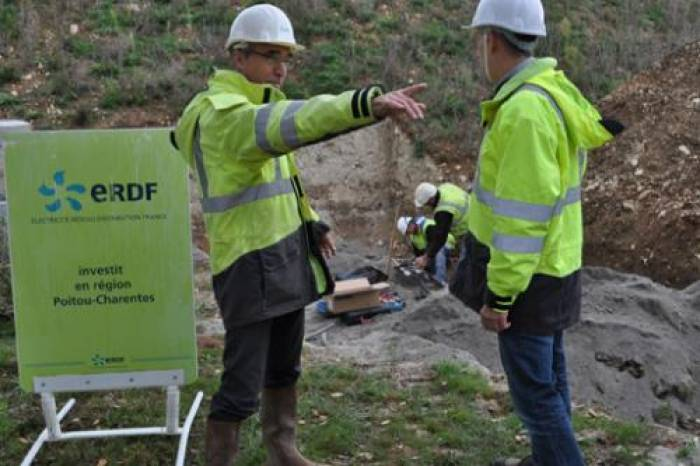 LGV SEA : les derniers travaux d'ERDF réalisés aujourd'hui