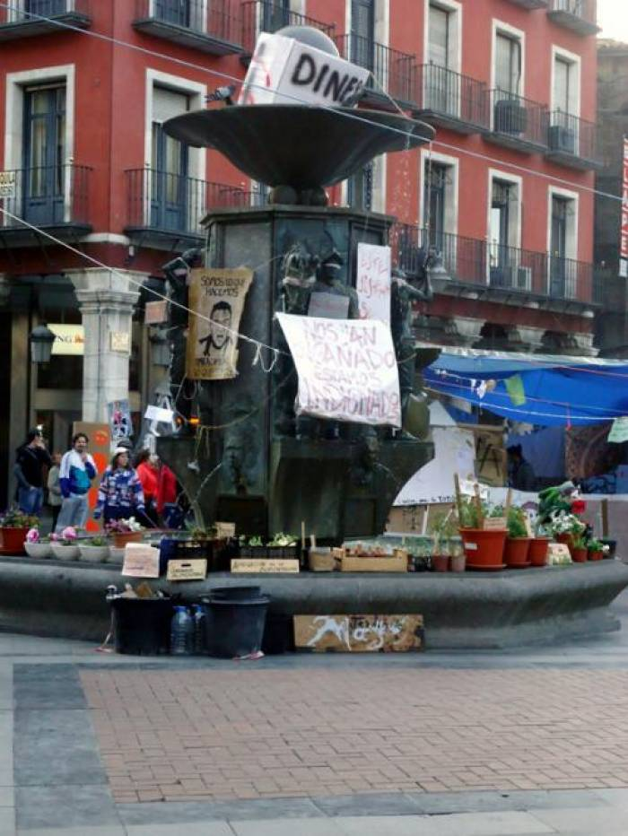 """""""Toma la calle"""" à Valladolid"""
