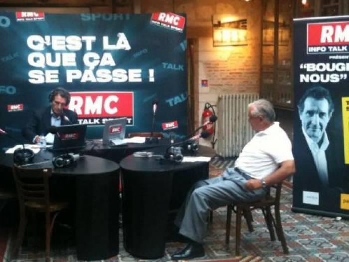 Raffarin sur RMC en direct de Poitiers
