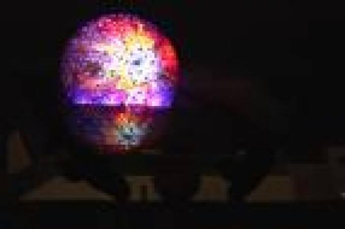L'image du week-end - La boule s'illumine